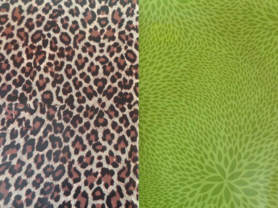 Decopatch Paper Green Leopard