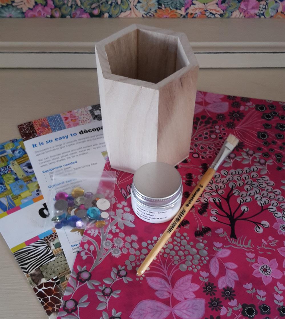 Decopatch Pencil Pot Kit