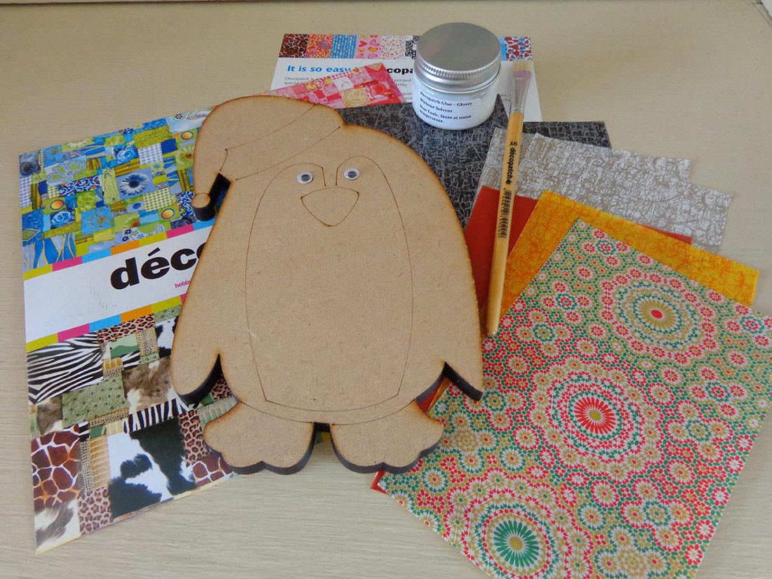 Decopatch Penguin Kit
