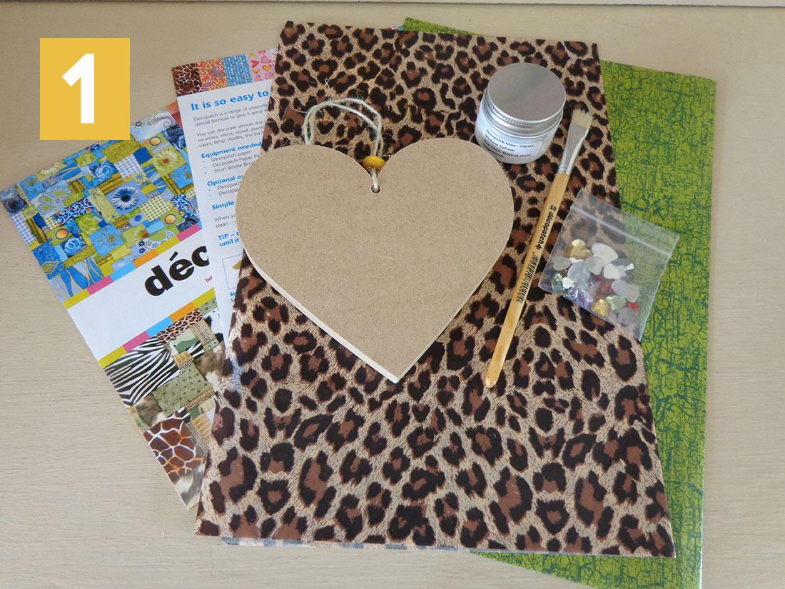 Decopatch Heart Kit