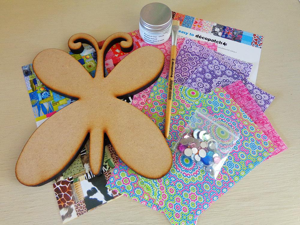 Decopatch Butterfly Kit