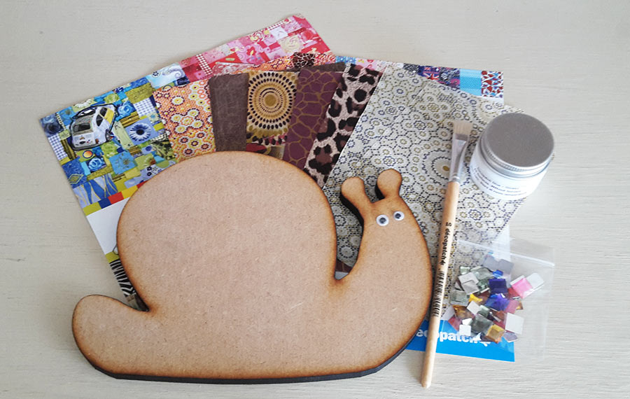 Decopatch Snail Kit