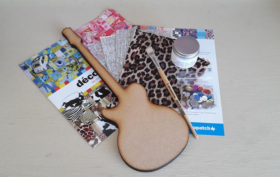 Decopatch Guitar Kit
