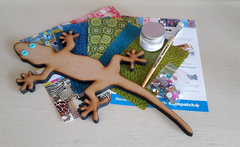 Decopatch Gecko Kit
