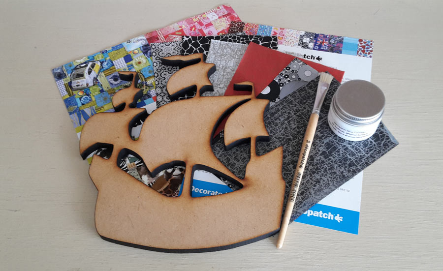 Decopatch Pirate Kit