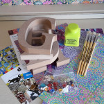Decopatch Letter party kit for 4