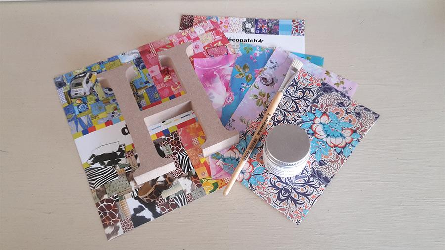 Decopatch Letter Kit