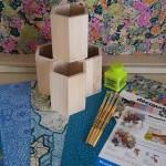 Decopatch Pencil Pot Party Kit for 4