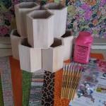 Decopatch Pencil Pot Party Kit for 8