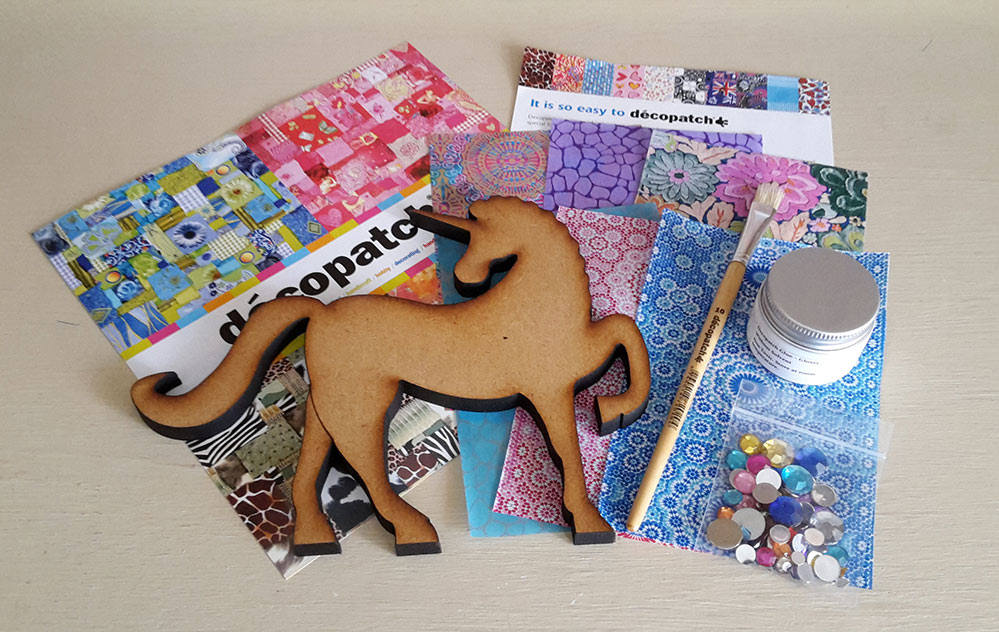 Decopatch Unicorn Kit