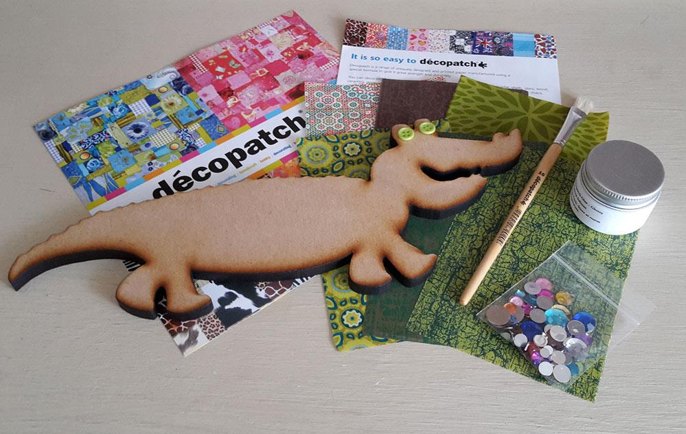 Decopatch Crocodile Kit