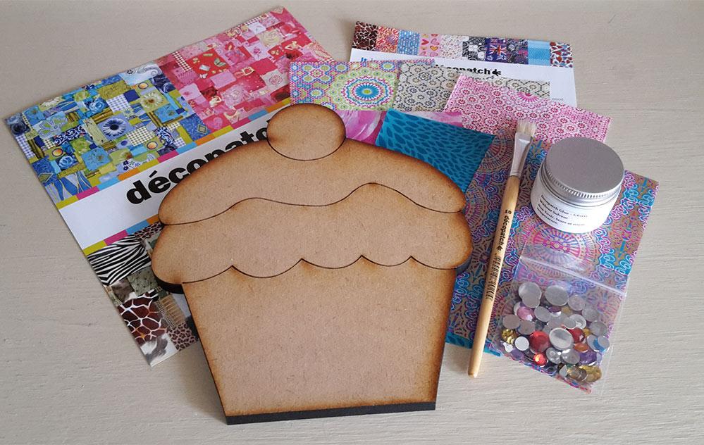 Decopatch Cupcake Kit