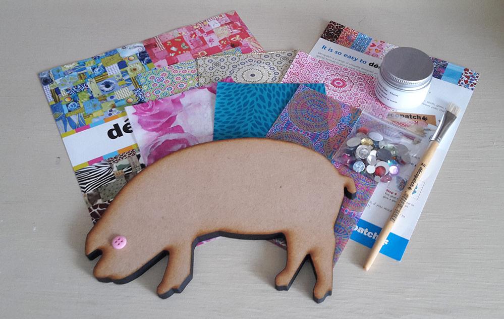 Decopatch Pig Kit