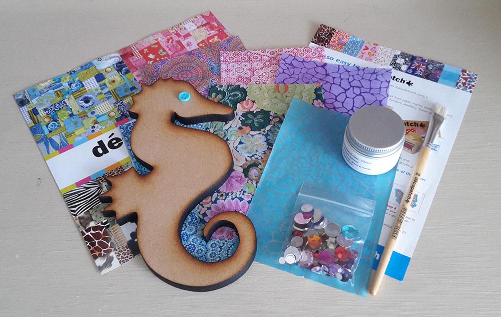 Decopatch Seahorse Kit