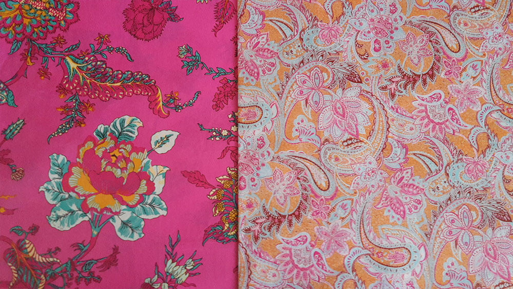 Decopatch Paper - Paisley Pinks