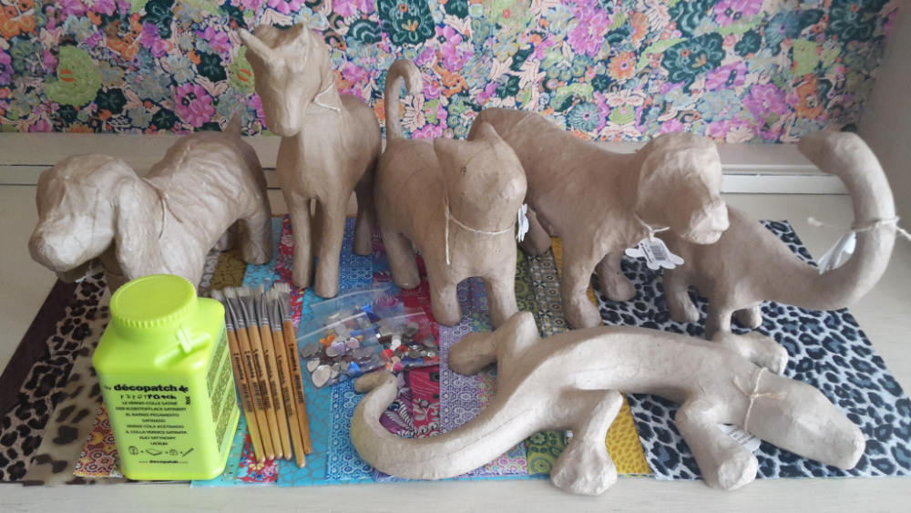 Decopatch 3D Animal Party Kit for 6