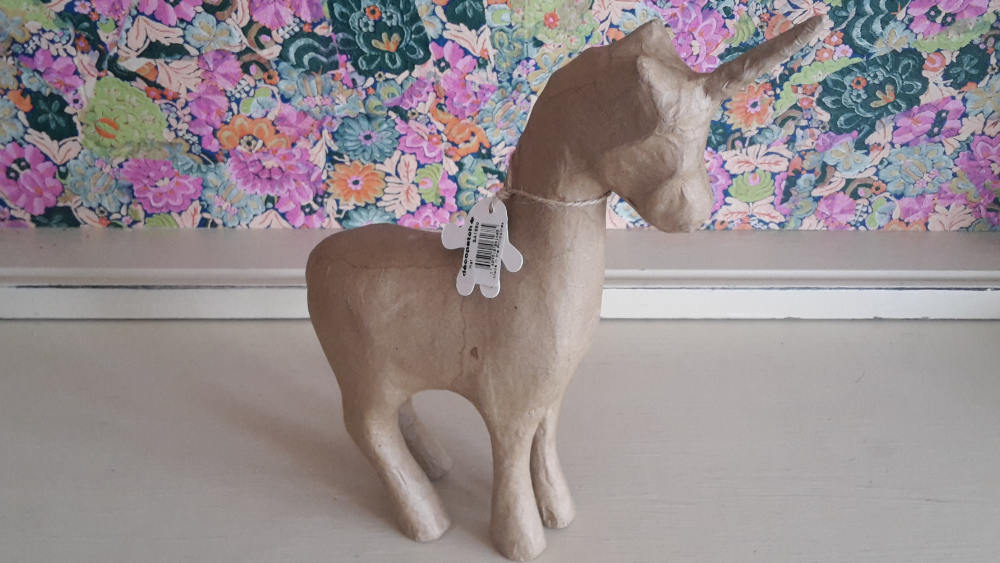 Decopatch 3D Paper Mache Unicorn (SA168)