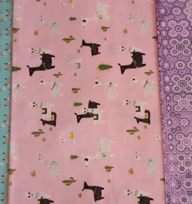 Decopatch Paper - Foxy llamas