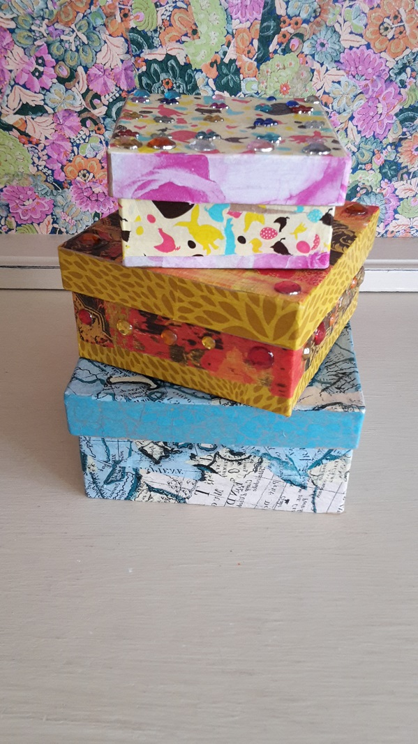 Decopatch Square Box Set Finished