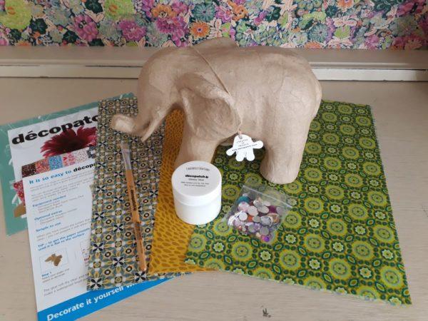 Decopatch 3D Elephant Kit