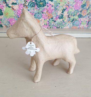 Decopatch Paper Mache horse SA201c