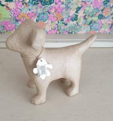 Decopatch paper mache dog SA205c