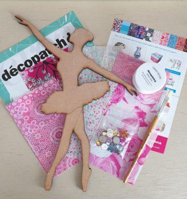 Decopatch Ballerina Kit