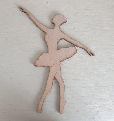 Wooden Ballerina Shape