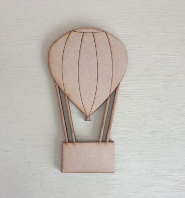 Wooden Balloon Shape