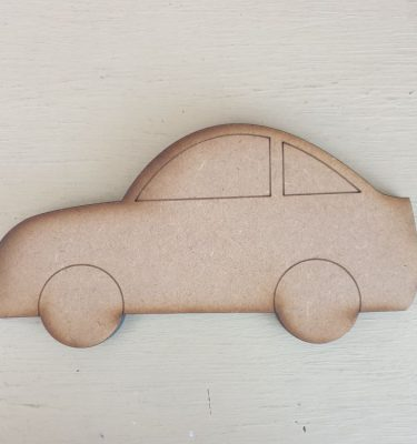 Wooden Car Shape