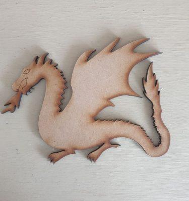 Wooden Dragon Shape
