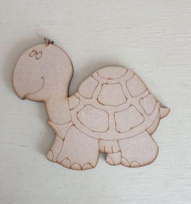 wooden tortoise shape