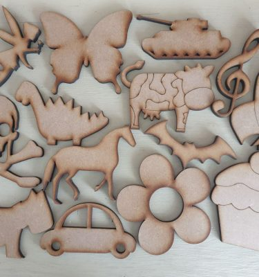 Wooden Craft Shapes - 12cm