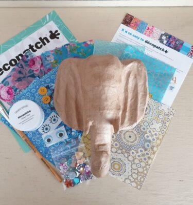 Decopatch 3D Elephant Trophy Kit SA177o