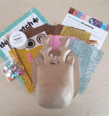 Decopatch Reindeer Trophy Head Kit